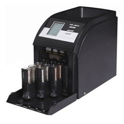 Royal Sovereign FS4DABK Auto Coin Sorter 4-Row Digital Display- 1 Each