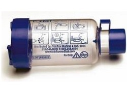 Aerosol Chamber Pocket for Inhaler Hudson Teleflex Med 100150- 1 Each