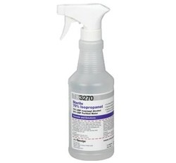 Sterile Alcohol 70% Isopropanol 16oz Spray Btl Texwipe TX3270- 1 Each