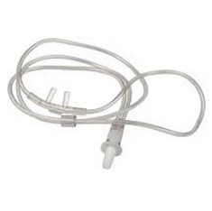 Nasal Cannula Softie Clear w/o Tubing for Adults Allied 3208- 1 Each