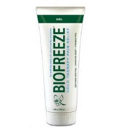 BioFreeze Gel 4oz Tube 11796 Cold Therapy Pain Relief- 1 Each