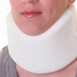 Cervical Collar Soft Foam Contoured Large 3.5