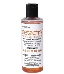 Detachol Adhesive Remover 4 Oz. Bottle Ferndale Labs 051304- 1 Each