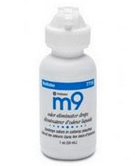 M9 Odor Eliminator Drops 1 oz Bottle Hollister 7715- 1 Each