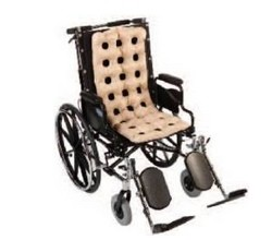 Seat Cushion Wheelchair Waffle with Air Pump Dermacare 201WPP- 1 Each
