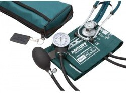 Kit BP Cuff and Stethoscope Teal ProS Combo II ADC 768641TL- 1 Each
