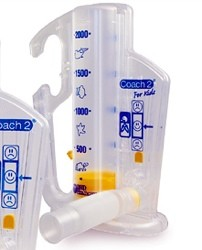 Case of Coach 2 Incentive Spirometers for Kids Smiths 222000- Case/12