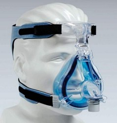 CPAP Mask ComfortGel Blue Full Face Large Headgear 1081802- 1 Each