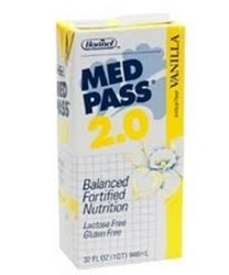 Med Pass 2.0 Vanilla Oral Supplement 32oz Hormel 27016- 1 Each