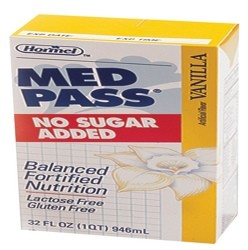 Med Pass Sugar Free Vanilla Oral Supplement 32oz Hormel 22649- Case/12