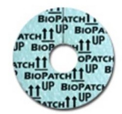 IV Dressing Biopatch 0.75 Inch Disk 1.5mm Hole Ethicon 4151- 1 Each