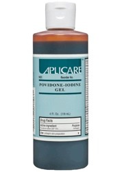 Gel PVP Iodine 10% Topical Prep Solution 4oz Operand 82269- 1 Each
