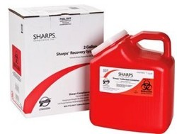 Sharps Compliance Mail Back Disposal System 2 Gallon 12000012- 1 Each