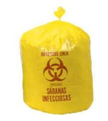 Yellow Liner Bags 33 Gallon High Density Colonial HDY304314- Case/250