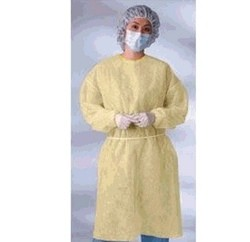 Gown Yellow X-Large Fluid Repel LF AMD Ritmed AMD8010- Case/50