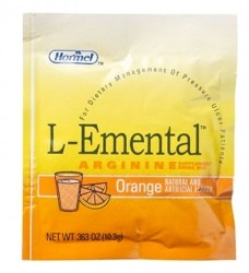 L-Emental Arginine Drink Mix 10.3gm Orange Hormel 41057- Box/50