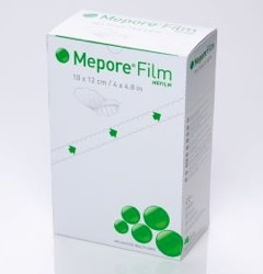 Box of Mepore Film Drsg 4x5 Transparent Bacteria Proof 271500- Box/70
