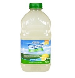 Thick Easy Lemon 48oz Thickened Water Nectar Consistency 12863- Case/6
