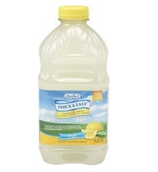 Thick Easy Lemon 48oz Thickened Water Honey Consistency 27076- Case/6