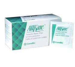 AllKare Barrier Wipes Skin Protective Convatec 037439- Box/50