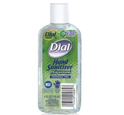 Dial Instant Hand Sanitizer AntiBacterial 4 oz Lagasse 00685- 1 Each