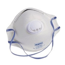 Mask N95 Disposable Respirator with Exhale Valve 7140N95- 10 Pack