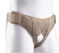 Hernia Belt Small 30-35 Inch Hip Size BSN Soft Form 67350SMBEG- 1 Each