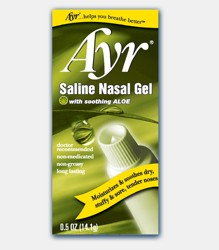 Ayr Saline Nasal Gel 0.5oz with Aloe Vera BF Ascher 2786762- 1 Each