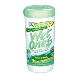 Wet Ones Hands & Face Wipes for Sensitive Skin SKU 2419315- Can/40