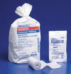Webril Cast Padding Undercast 4 Inch 4 Yds Sterile Cotton 2502- 1 Each