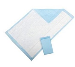 Sta-Put Underpad 30x36 Inch Heavy Absorbency Adh Strips 959S- Case/96