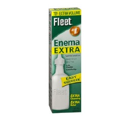 Enema Extra Sodium Phosphate 7.8 oz Adult Use Fleet 1655687- 1 Each