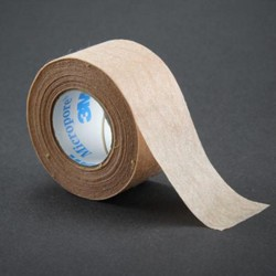 Paper Tape Micropore 1 Inch x 10 Yards Tan 3M 15331- 1 Each