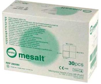 Box Of Mesalt Dressing 4x4 Inch Sodium Chloride Sterile