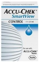Accu-Chek SmartView Control Solution 2.5mL Roche 06334032001- 1 Each
