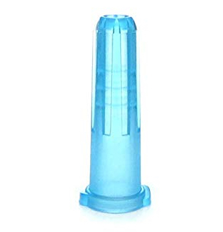 BD Syringe Tip Cap Blue Luer Lock and Slip Tip BD 305819- 1 Each