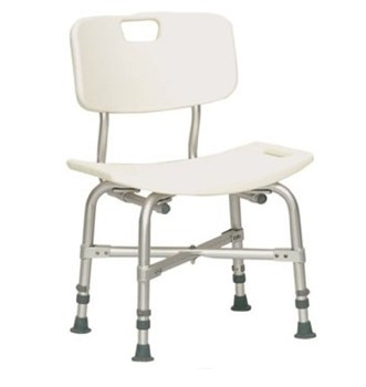 ProBasics Bariatric Shower Chair with Back 500 Lbs Compass BSBCWB- 1 Each