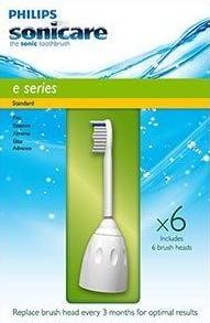Sonicare Replacement Brushheads E-Series-  Standard Size- 6 Pack