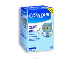 Bayer Contour Glucose Meter 5 Seconds Meter 7151H- 1 Each