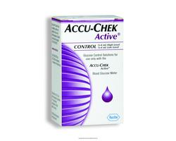 Accu-Chek Active Glucose Control Solution 4mL High & Low 3146324- 2 Pk