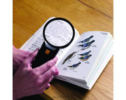 Illuminated Magnifier Reader