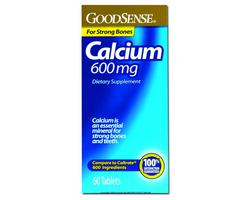 Calcium 600mg Tablets 60 Count
