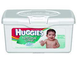 Huggies Natural Care Baby Wipes 72ct
