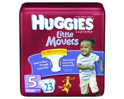 Huggies Supreme Little Movers Diapers