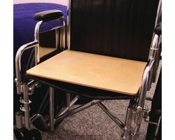MTS5400- SafetySure Wooden Wheelchair Board- 16x16x.5 Inch- 1 Each