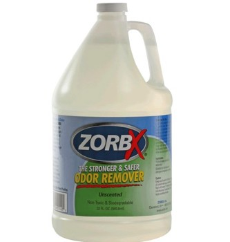 Zorbx 1 Gallon Jug Unscented Odor Remover Non-Toxic 1155- 1 Each