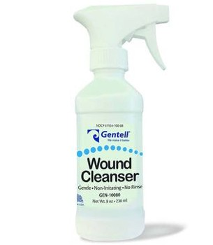 Gentell Wound Cleanser 8 Ounce Spray pH Balanced 10080- 1 Each