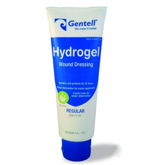 Gentell Hydrogel Wound Dressing Gel Aloe 4 Ounce Tube 11140- 1 Each