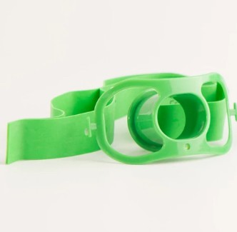 Bite Block with Rubber Strap Latex-Free Mouth Guard BB100- Box/50