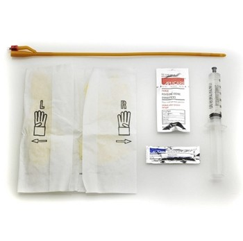 Bardia 18 French Foley Catheter Tray 30cc Balloon Bard 800318- 1 Each